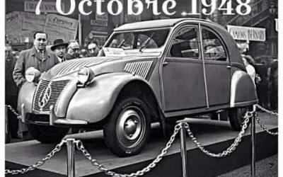 Bon anniversaire Citroën 2 CV !